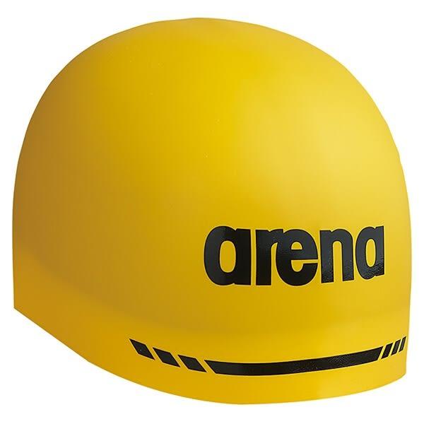 *日光部屋* arena (公司貨)/ARN-5400-YEL 鋼盔式/競賽款/矽膠泳帽