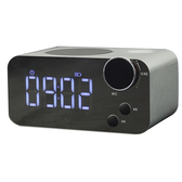 【iPlug MiniHiFi-R1】藍牙音樂鬧鐘(附帶LED白光夜燈)