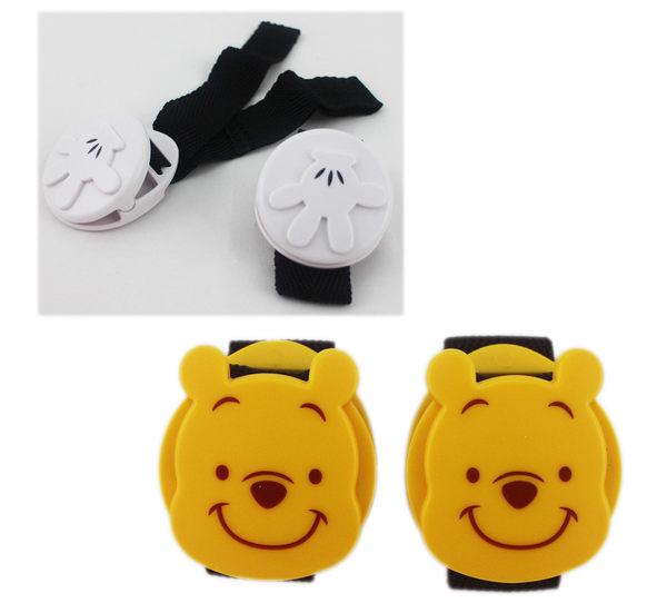【卡漫城】 萬用夾 2選1 嬰幼兒 推車用 被夾 ㊣版 米奇 Mickey 小熊維尼 維尼熊 Winnie Pooh