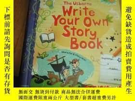 二手書博民逛書店原版精装罕見write your own story book 写作小技巧Y25524