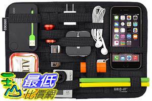[9美國直購] Cocoon 線材收納袋 CPG10BK GRID-IT! Accessory Organizer - Medium 12吋 x 8吋 (Black)