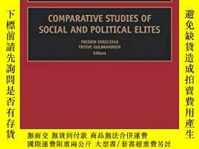 二手書博民逛書店Comparative罕見Studies Of Social And Political Elites, Volu