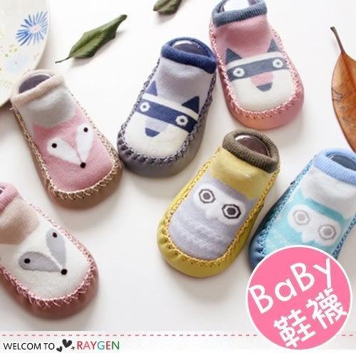 卡通動物造型寶寶學步鞋 襪套