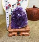 純天然紫晶洞擺件紫...