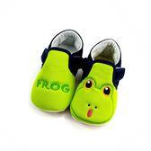 俏皮小青蛙 透氣寶寶學步鞋 《7+1童鞋》D542綠色