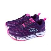 LOTTO AIRFLOW 4.0 跑鞋 運動鞋 紫色 女鞋 LT0AWR1917 no002