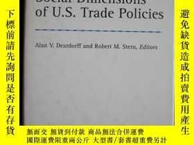 二手書博民逛書店Social罕見Dimensions of U.S. Trade