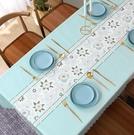 桌布防水防油免洗北歐餐桌布