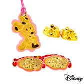Disney迪士尼金飾 寶貝美妮五件式黃金彌月禮盒-0.5錢