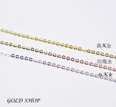 gold 義大利 585 項鍊 長度40公分 [ kn 010 ]-寬1mm