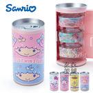 日本紙膠帶-三麗鷗飲料罐造型紙膠帶組-雙子星-玄衣美舖