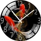 網紅鐘表客廳家用掛鐘靜音創意石英鐘臥室時鐘裝飾免打孔掛表掛墻