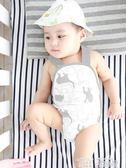 肚圍 寶寶護肚圍嬰兒肚兜夏季純棉裹肚子護肚衣新生兒男女護肚臍帶薄款 童趣屋