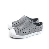 native JEFFERSON 懶人鞋 洞洞鞋 灰色 小童 童鞋 13100100-1501 no067