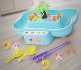年終大清倉寶寶小貓釣魚池套裝2兒童磁性小孩電動玩具1-3-6歲 益智男孩女孩