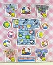 【震撼精品百貨】Hello Kitty 凱蒂貓~KITTY貼紙-小黃鳥崔西Tweety聯名款-深藍衣