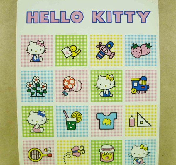 【震撼精品百貨】Hello Kitty 凱蒂貓~造型卡片-小格子