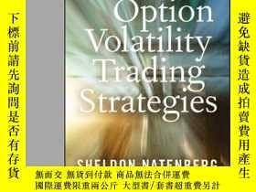 二手書博民逛書店Option罕見Volatility Trading Strategies, New And Updated Ed