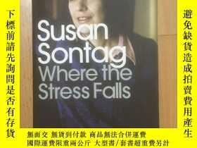 二手書博民逛書店Where罕見the Stress Falls (重點所在)Y2