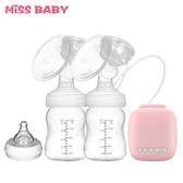 吸奶器 雙邊電動吸奶器孕產婦吸乳擠奶器吸力大雙側自動按摩靜音