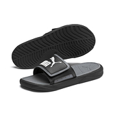 PUMA Royalcat Comfort 男女款黑色休閒涼拖鞋 37228001