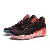ADIDAS 籃球鞋 DAME 7 LILLARD 黑橘 英文底 里拉德 2K21 避震 男 (布魯克林) G55199