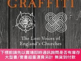 二手書博民逛書店Medieval罕見Graffiti: The Lost Voices of England s Churches