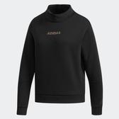 Adidas CREW HD LNG 女款黑色長袖上衣-NO.DT2395