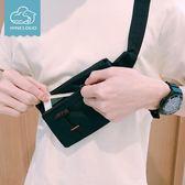 跑步腰包男士運動多功能手機包男款戶外裝備女士帆布貼身隱形迷你 QG432『愛尚生活館』