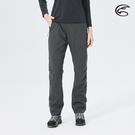 ADISI 女防風超撥水雙層保暖長褲AP2021028 (XS-2XL) / 城市綠洲 (防潑水 刷毛 天鵝絨 快乾 彈性 機能)