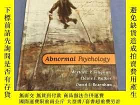 二手書博民逛書店Abnormal罕見Psychology (fourth Edi