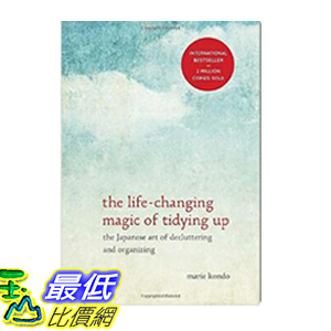 [106美國直購] 2017美國暢銷書 The Life-Changing Magic of Tidying Up:The Japanese Art of Decluttering and Organizing