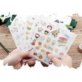 手帳貼紙│日本印象v.3手帳貼紙@和紙材質櫻花鯉魚旗女兒節貓咪春天