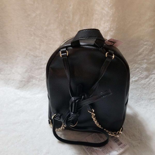 美國 Victoria's Secret 維多莉亞的秘密 迷你後背包 黑色後背包大特價 限時搶購 $2680