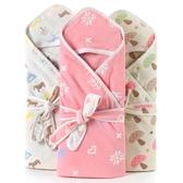 嬰兒抱被新生兒包被純棉紗布初生兒被子寶寶嬰兒用品浴巾抱被
