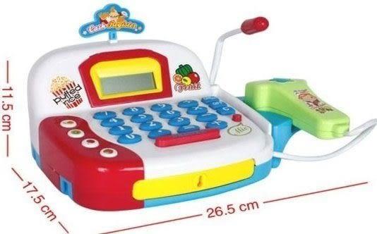 *粉粉寶貝玩具*智能超市收銀機~家家酒必備玩具~真的可以計算喔~