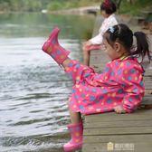 印花兒童雨鞋 加厚防滑鞋底天然環保橡膠無異味迎中秋全館88折