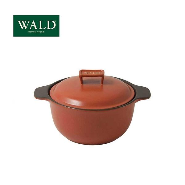 義大利WALD陶鍋系列-20cm燉鍋(磚紅-有原裝彩盒)