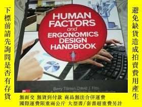 二手書博民逛書店Human罕見Factors And Ergonomics Design Handbook【外文原版 精裝16開】
