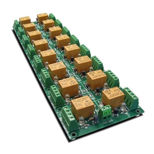[2美國直購] denkovi 繼電器模組 16 Channel relay board for your Arduino or Raspberry PI 5V