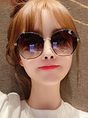 墨鏡 2021年新款女士時尚墨鏡韓版潮防紫外線偏光太陽眼鏡2021網紅大臉 非凡小鋪