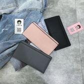 ins 錢包長款韓版潮個性小清新簡約學生可愛超薄零錢包