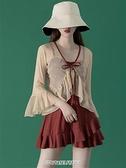 【快出】【仙靈女屋】仙女範韓國ins遮肚顯瘦罩衫溫泉保守學生連體泳衣女