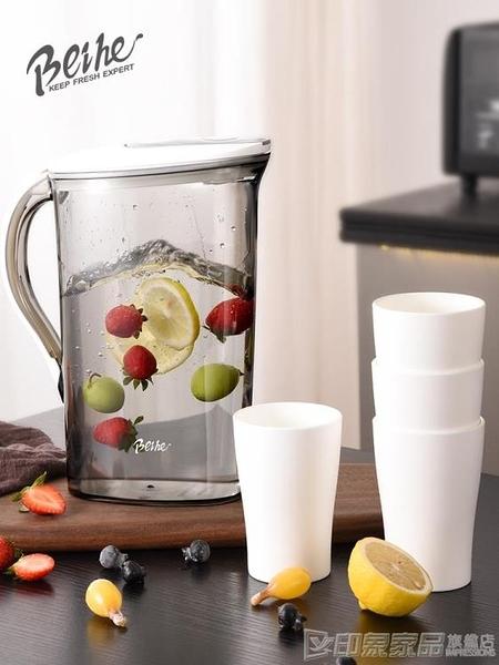 冷水壺涼水壺家用耐高溫涼水杯水壺大容量涼水杯涼開水壺涼白開水 印象家品