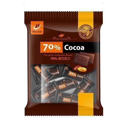 宏亞77  70%黑巧克力 220G【愛買】