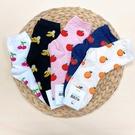 韓國襪子 水果風情 女襪 長襪 休閒襪