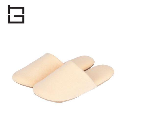 【HG】居家針織軟底防滑棉拖鞋(橙) 室內拖鞋