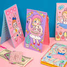 [現貨] BonyToy 棒棒糖女孩卡包 多卡包 長夾 QT31349