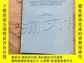 二手書博民逛書店Best罕見Reference Books, 1981-1985