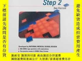 二手書博民逛書店NMS罕見Review for USMLE Step 2 2ND EDITIONY19139 National